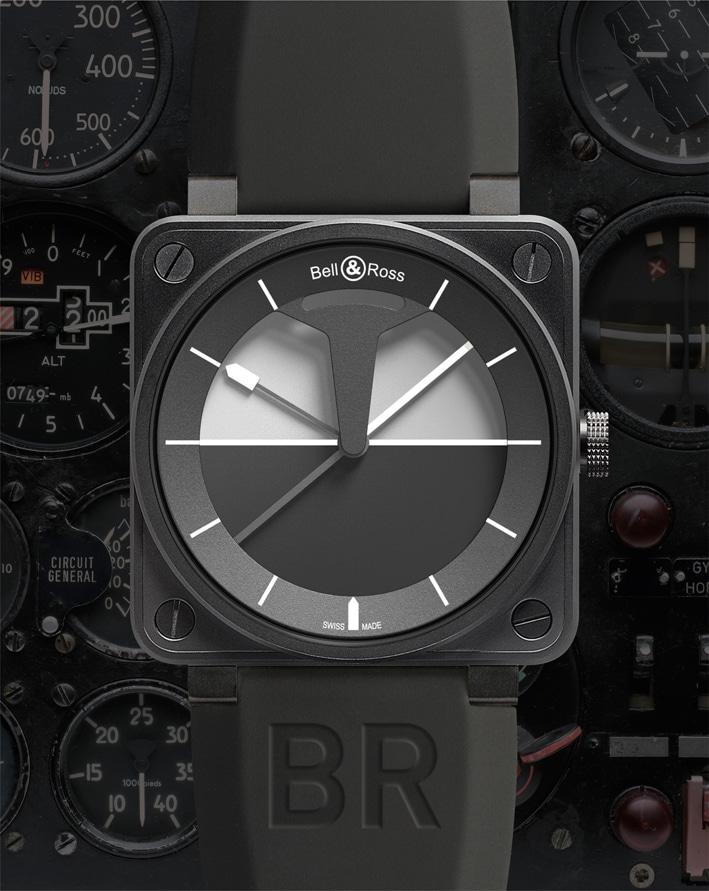 bell ross uhr im cockpit instrumentenlook das uhren. Black Bedroom Furniture Sets. Home Design Ideas