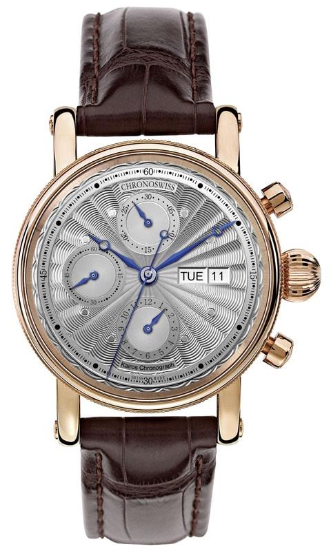 Den neuen Kairos Chronograph stellt Chronoswiss in Basel vor