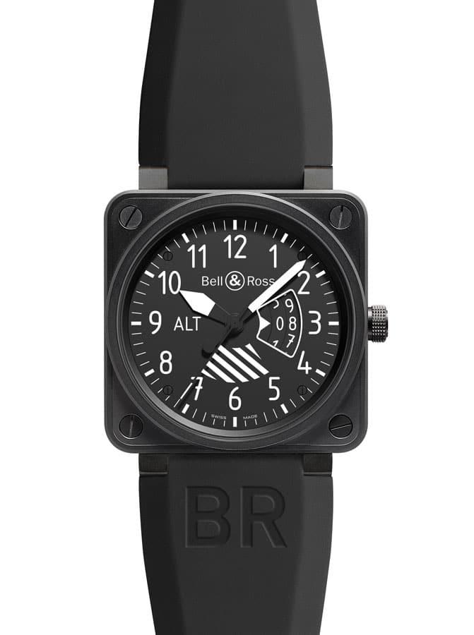 Die BR 01 Altimeter von Bell & Ross