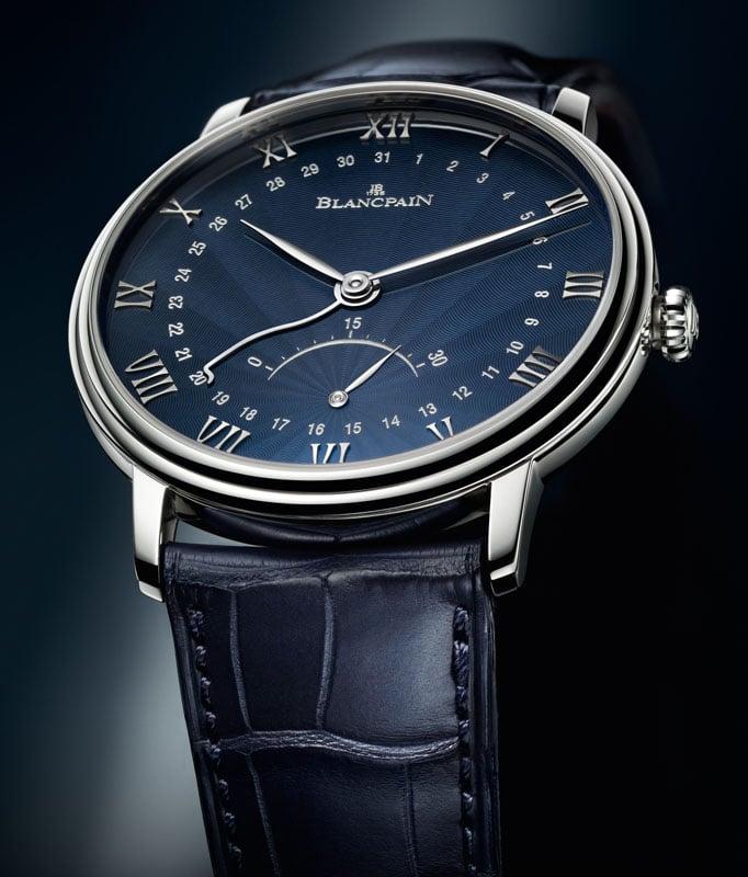 Das Uhrenmodell Villeret Ultraflach von Blancpain