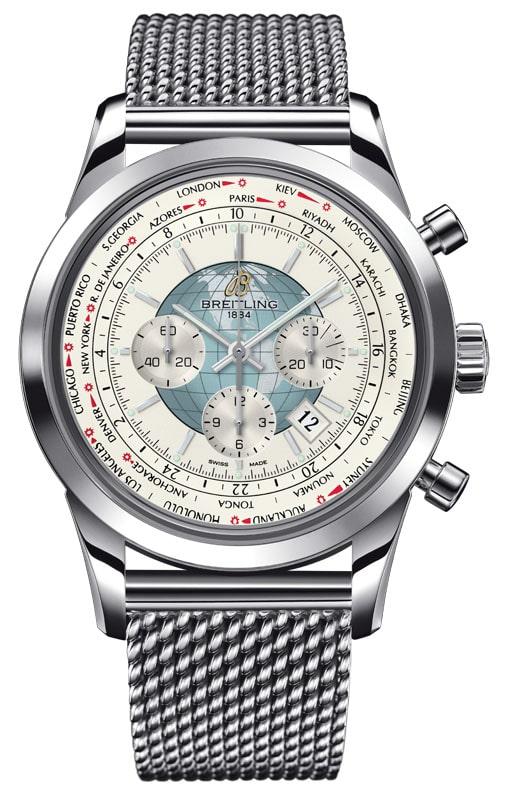Zeitenwechsler: der Transocean Chronograph Unitime von Breitling
