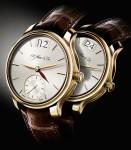 Uhr mit zweiter Zeitzone: die Meridian von H. Moser & Cie.