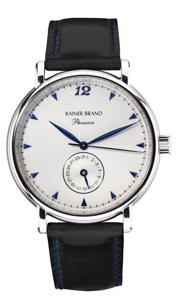 Uhr mit Zeigerdatum: die Grande Panama von Rainer Brand