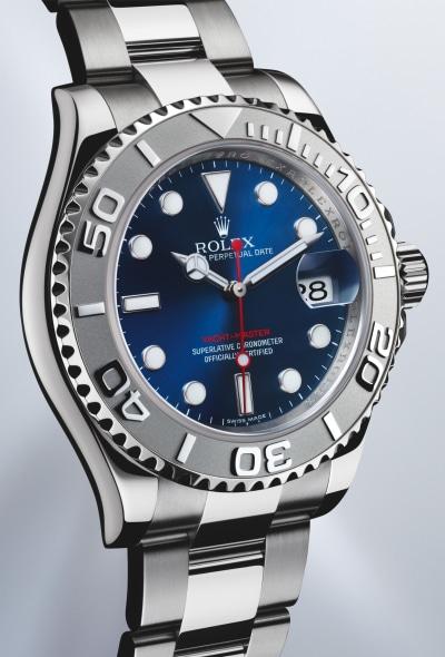 Rolex Silber Blau