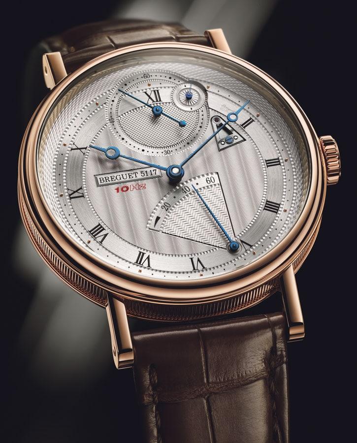 Mit Magneten im Schwing- und Hemmungssystem die Classique Chronométrie 7727 B von Breguet