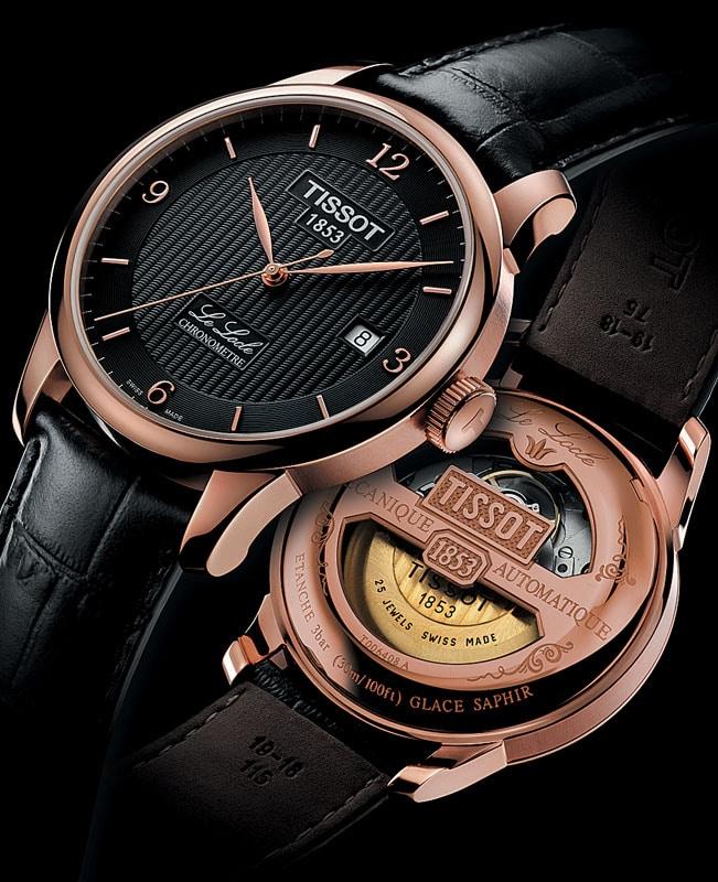 Die Le Locle Automatic Chronometer Edition von Tissot