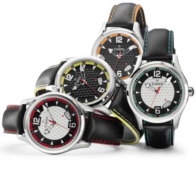 Golf-Uhren von Cimier: die Modelle Birdie