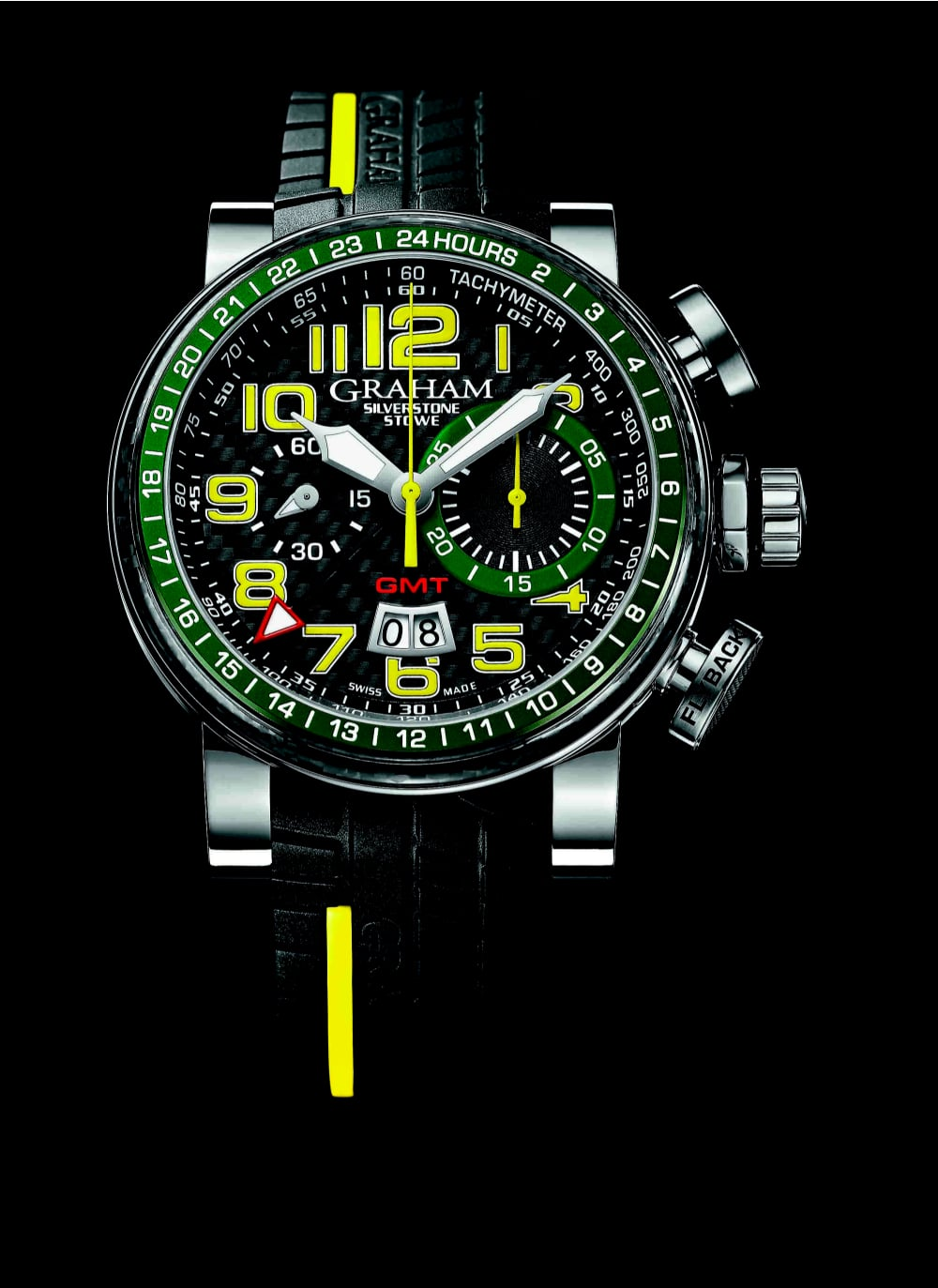 Graham Stowe GMT yellow/green
