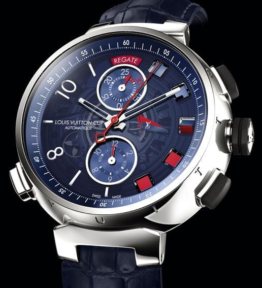 Die Tambour Spin Time Regatta von Louis Vuitton