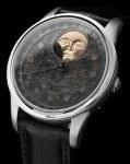 Mit handgravierter Mondlandschaft: die Moon Landscape von Schaumburg Watch