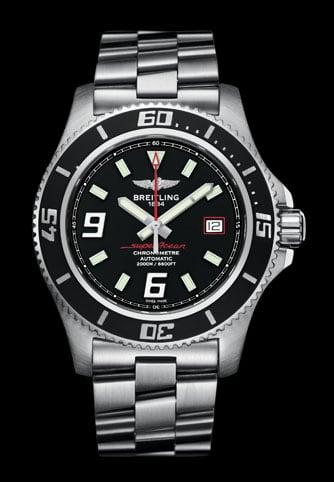 Erster Preis des Watchtime-Gewinnspiels: eine Breitling Superocean