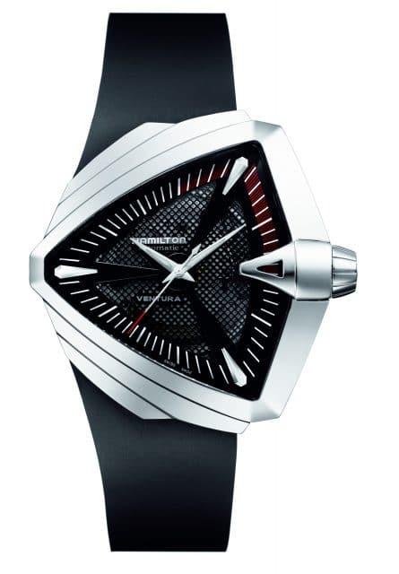Zurück in die Zukunft: mit dem Uhrenmodell Hamilton Ventura XXL