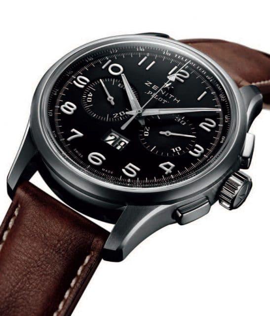 Fliegerchronograph mit Großdatum: die Pilot Big Date Special von Zenith