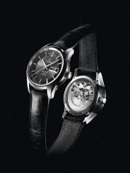 Mit dem De Ville Hour Vision Jahreskalender zeigt sich Omega elegant (7.800 €)