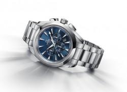 Neueste Olympia-Uhr: Der Seamaster Aqua Terra London Chronograph (5.600 €) erschien kürzlich zur Countdown-Eröffnung für London 2012