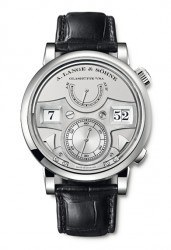 Lange Zeitwerk Striking Time in Platin (145.025 €)