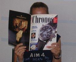 Sind Sie Chronos-Leser der ersten Stunde?