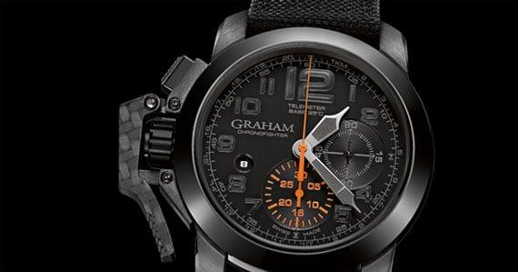 Graham Chronofighter Oversize New Generation Black Forest