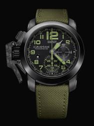 Graham Chronofighter Oversize Amazonia Green