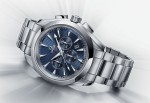 "Der Seamaster Aqua Terra Co-Axial Chronograph ""London 2012"" in Edelstahl"