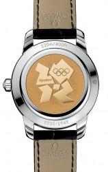 Der Gehäuseboden zeigt das Logo der Olympischen Spiele 2012 in London