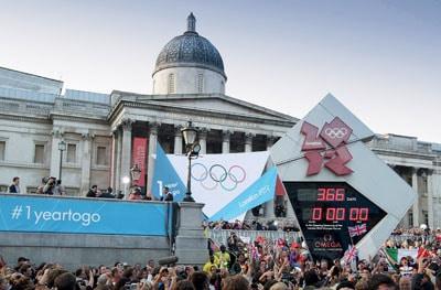 Bei den Olympischen Spielen 2012 ist Omega zum 25. Mal offizieller Zeitnehmer
