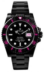 Die pinkfarbene Rolex war ein Geschenk zum Hochzeitstag