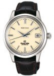 Grand Seiko mit Alligatorlederband (4300 €)