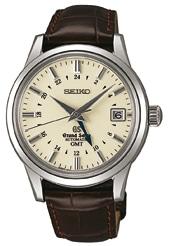 Funktionserweiterung: die Grand Seiko Automatic GMT mit zweiter Zeitzone (4700 €)