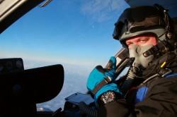 Ein Pilot bei Eurocopter führe den Praxistest für die Entwicklung des TeStAF durch