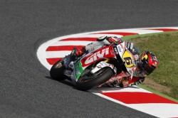 Die Uhrenmarke Tissot unterstützt den Moto-GP-Rennfahrer Stefan Bradl