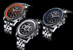 Die drei neuen Supersports-Modelle von Breitling for Bentley