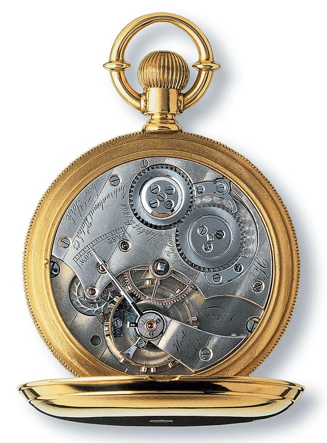 Mechanisches Uhrwerk von IWC, Kaliber Jones 1870