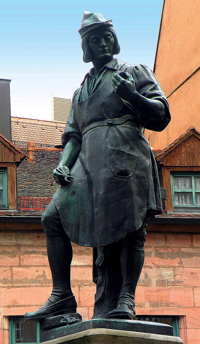 In Deutschland gilt der Schlossermeister Peter Henlein als Erfinder der Taschenuhr. In seiner Heimatstadt Nürnberg hat man ihm zu Ehren ein Denkmal errichtet.