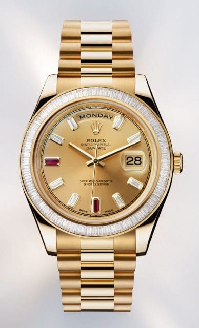 Ladylike abtauchen: Rolex Oyster Perpetual Day Date II