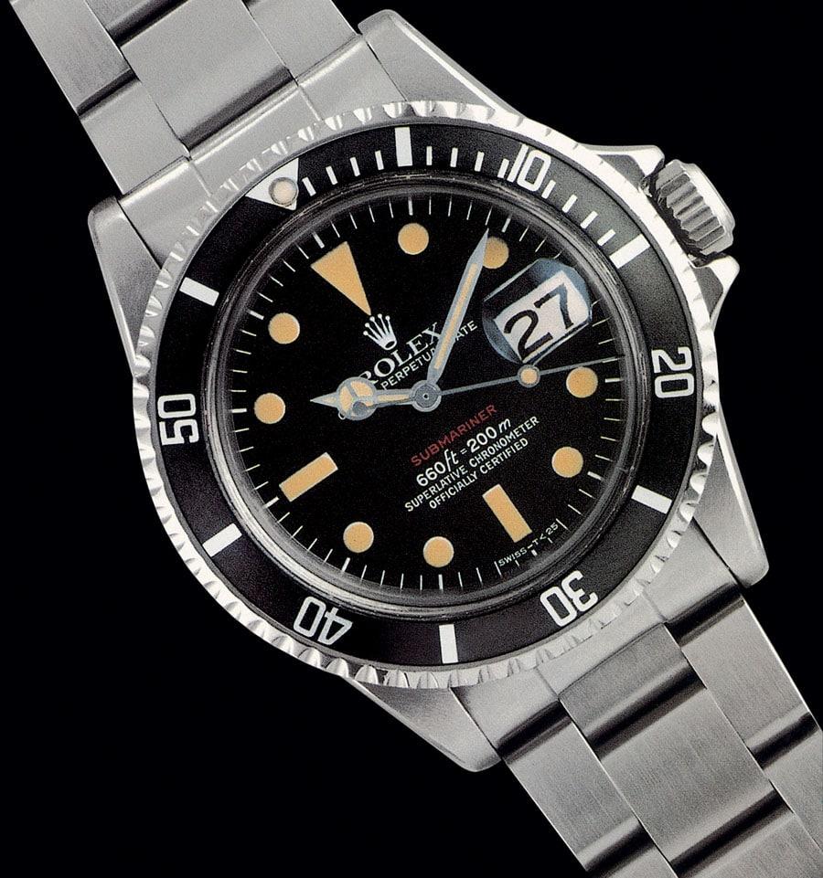 Rolex Submariner Red Sub 1970