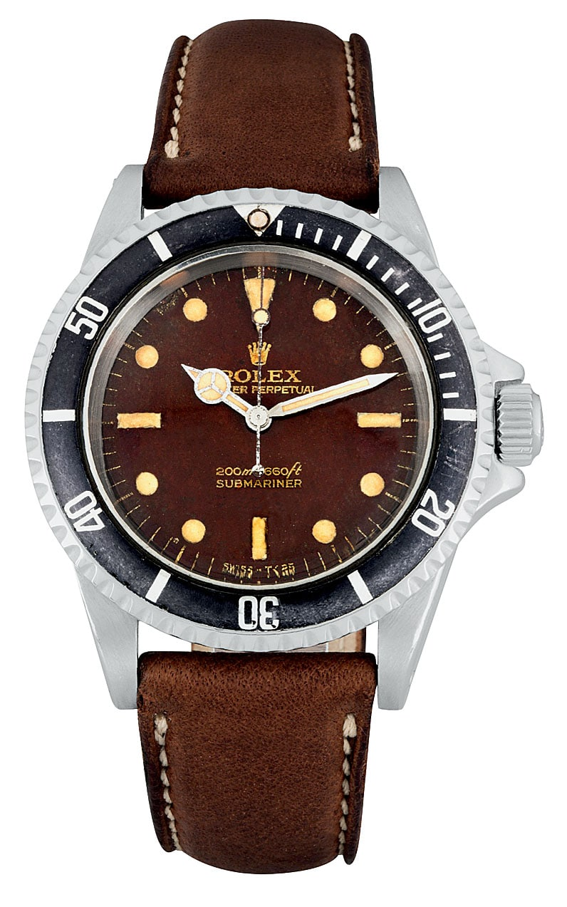 Rolex Submariner Tropical Dial 1967