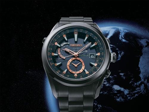 Seikos neue Astron ist die erste weltweit funktionierende Funkarmbanduhr mit GPS-Zeitzonenerkennung