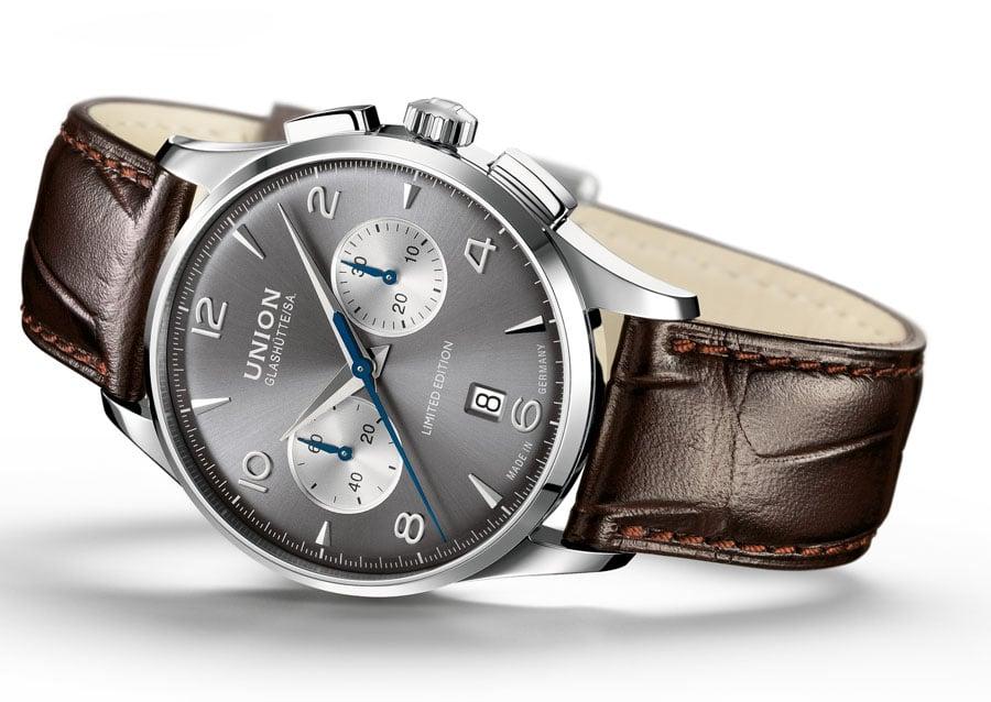 Uhr zum Oldtimer-Renner: die Noramis Chronograph Sachsen Classic 2012 von Union Glashütte