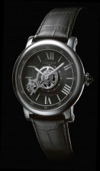 Die Astrotourbillon Carbon Crystal Watch von Cartier