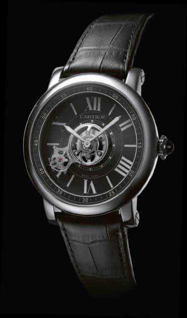 Die Astrotourbillon Carbon Crystal Watch von Cartier