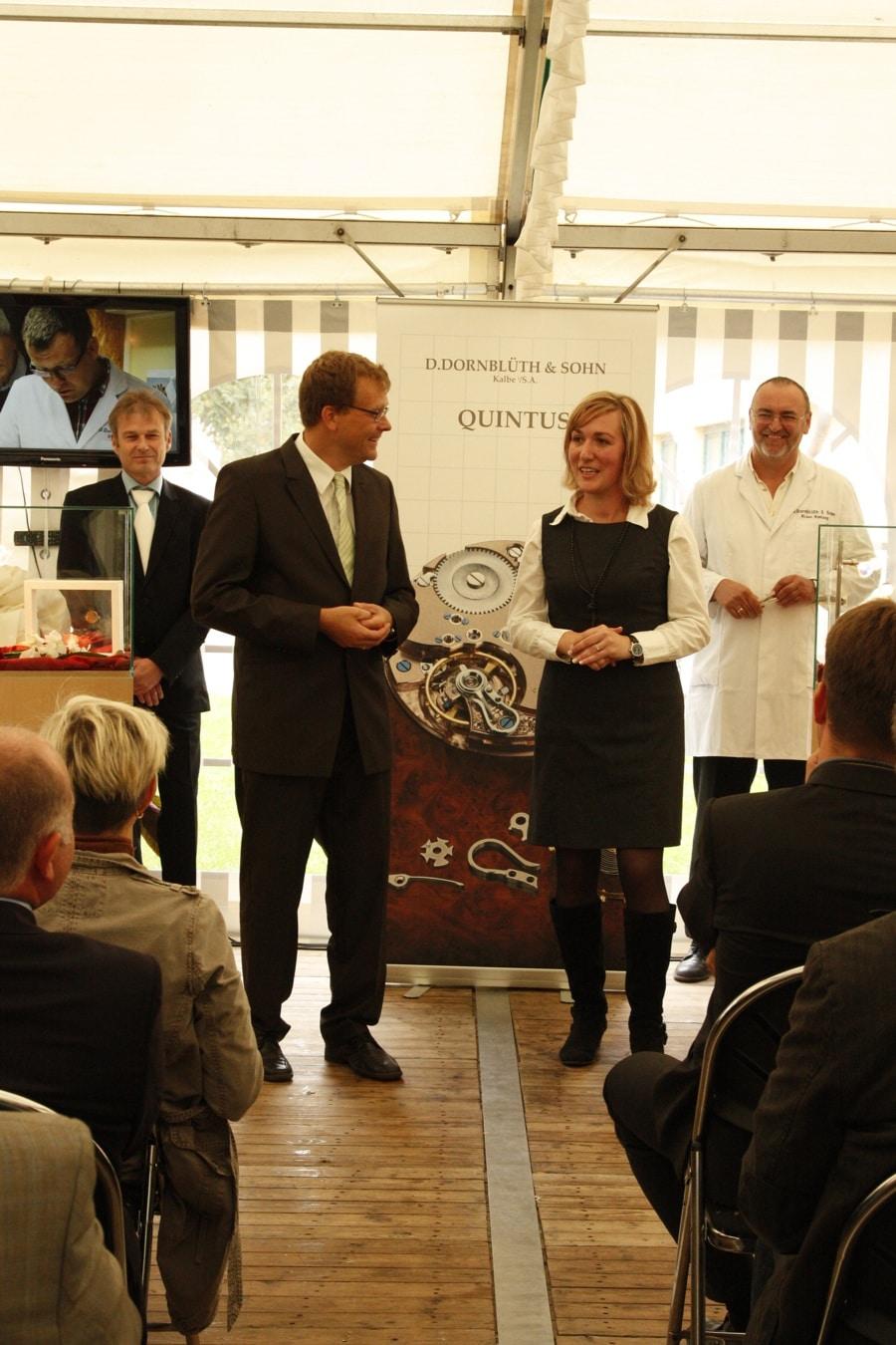 Dirk und Anja Dornblüth präsentieren die Quintus und das Kaliber 2010