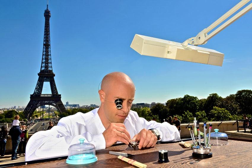 GP Young Watchmaker Paris Eiffeltum