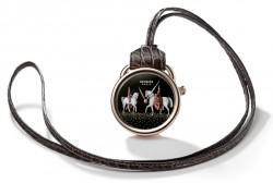Taschenuhr von Hermès: die Arceau Pocket Amazones
