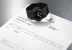 Hublot bietet seinen Kunden eine Serviceuhr