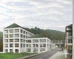 So soll das neue Gebäude von A. Lange & Söhne in Glashütte aussehen