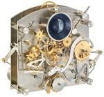 Die Troja Opus Temporis von Erwin Sattler: Über 600 Teile bilden das Werk mit seinem Ewigen Kalender und der dreidimensionalen Mondphase.