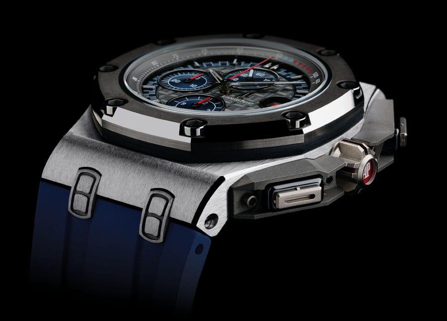 Der Royal Oak Offshore Chronograph Michael Schumacher in Platin