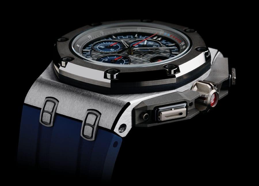 Durch die Uhr Royal Oak Concept Laptimer wird Michael Schuhmacher geehrt