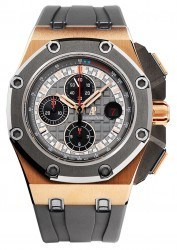 Der Royal Oak Offshore Chronograph Michael Schumacher in Rotgold